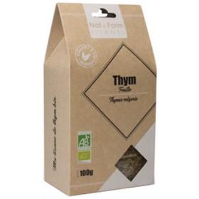Organic thyme NAT&FORM TISANES