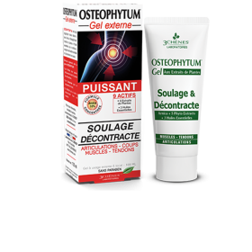 Osteophytum gel : joints, blows, muscles,...