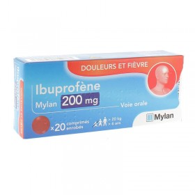 Ibuprofène 200mg comprimés MYLAN