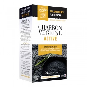 Activated plant charcoal - 45 capsules - DAYANG