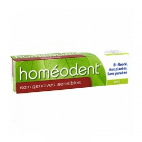 Homéodent soin gencives sensibles goût anis -...