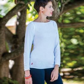 Senovie 100% cotton white t-shirt