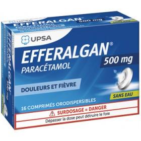 Efferalgan 500mg comprimés orodispersibles UPSA
