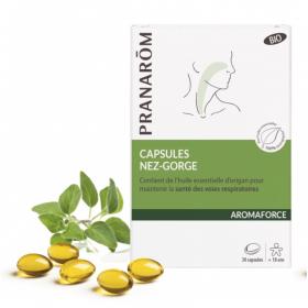 Aromaforce capsules nez-gorge – PRANARÔM