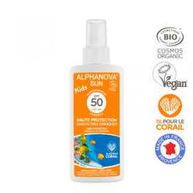 Enfant crème solaire bio SPF 50 - ALPHANOVA
