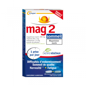 MAG 2 sommeil – COOPER
