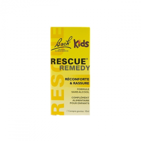 Rescue kids gouttes 10 ml de Bach